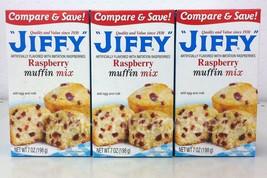 Jiffy Raspberry Muffin Mix 7 oz (3 pack) - $5.99