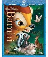 Bambi Diamond Edition Starring Hardie Albright Disney Blu-ray + DVD New - $32.25