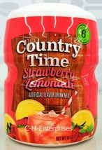 Country Time Strawberry Lemonade Drink Mix 18 oz - $5.69