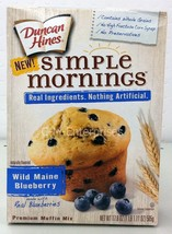 Duncan Hines Simple Mornings Wild Maine Blueber... - $6.41