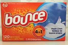 Bounce Fresh Linen Fabric Softener Dryer Sheets... - $9.49
