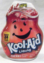 Kool Aid Cherry Liquid Drink Mix 1.62 oz Makes ... - $5.69