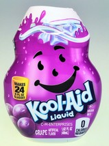 Kool Aid Grape Liquid Drink Mix 1.62 oz Makes 2... - $5.69