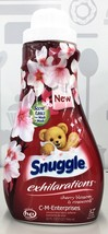 Snuggle Exhilarations Cherry Blossom & Rosewood Liquid Fabric Softener 3... - $7.59