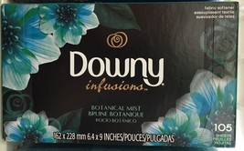 Downy Infusions Botanical Mist Fabric Softener Dryer Sheets 105 count - $9.02