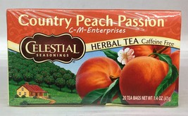 Celestial Seasonings Country Peach Passion Caff... - $8.54
