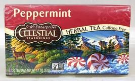 Celestial Seasonings Peppermint Herbal Tea Caff... - $8.54
