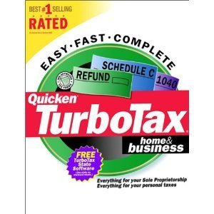 Quicken Turbo Tax Home & Business {Tax Year 1999} [CD-ROM] Windows