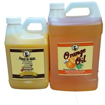 Howard Feed-N-Wax 1/2 Gallon and Howard Orange Oil Gallon, Clean Kitchen... - $98.77