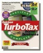 TurboTax Home & Business Federal 1999 [CD-ROM] Windows 98 / Windows NT / Wind...