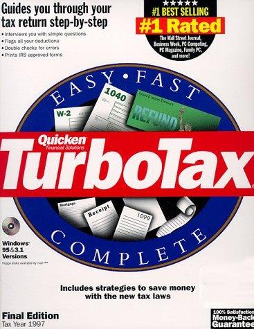 TurboTax 1040 [Nov 01, 1997]