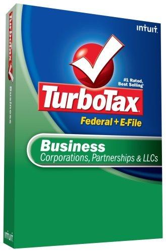 TurboTax Business + eFile 2008 [OLD VERSION] [CD-ROM] Windows Vista / Windows...