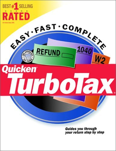 Quicken TurboTax (Tax Year 2000) [CD-ROM] Windows 98 / Windows 2000 / Windows...