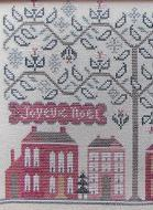 Joyeaux Noel christmas cross stitch chart Kathy Barrick Designs