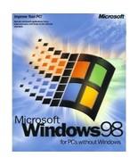 Microsoft Windows 98 1st Edition [CD-ROM] Windows 98 / Windows 95 - $63.35