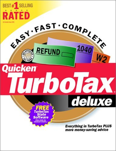 TurboTax Deluxe 2000 (PC) [CD] Windows