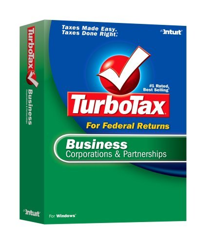 2006 TurboTax Business Corporations and Partnerships [OLDER VERSION] [CD-ROM]...