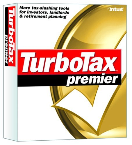 TurboTax Premier 2003 [CD-ROM] Windows 98 / Windows 2000 / Windows Me / Windo...