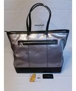 Lodis Flash Laptop Tote Bag Large Saffian Leather New - $165.00