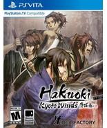 New! Hakuoki: Kyoto Winds PlayStation Vita PSV Free Shipping Action - $44.54