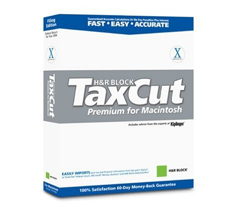 TaxCut 2004 Premium for Macintosh [Old Version] [CD-ROM] Mac