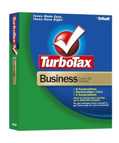 TurboTax Business 2005 [Old Version] [CD-ROM] Windows Me / Windows 98 / Windo...