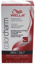 Wella Color Charm Liquid Haircolor 367/3Rv Black Cherry, 1.4 oz - $6.01