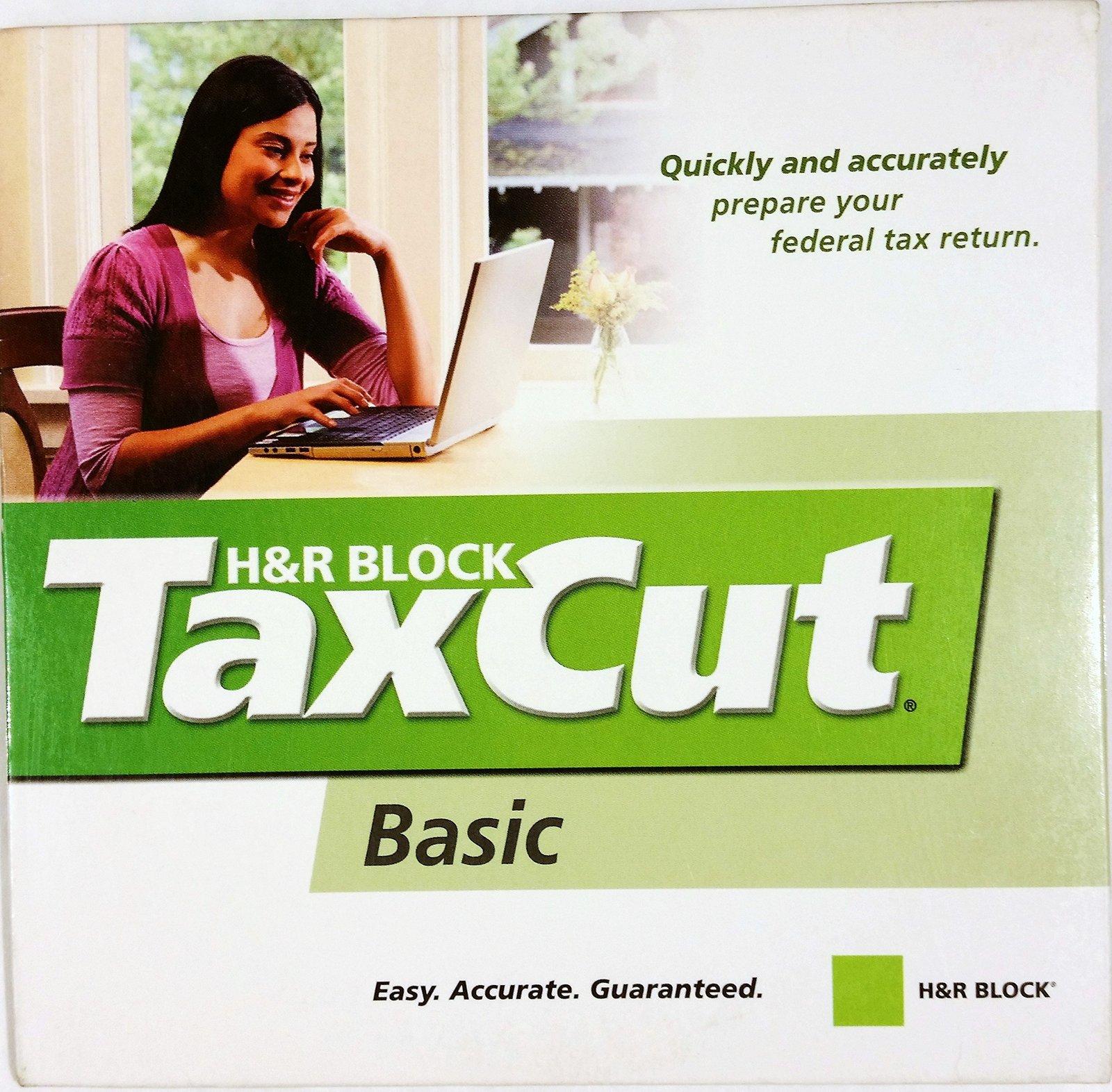 H&R Block TaxCut Basic 2007 [CD-ROM]