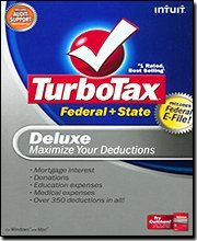 Intuit, Inc. TurboTax 2008 Deluxe Federal + State + eFile [OLD VERSION] Tax S...