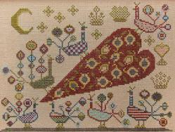Moon Dance cross stitch chart Kathy Barrick Designs