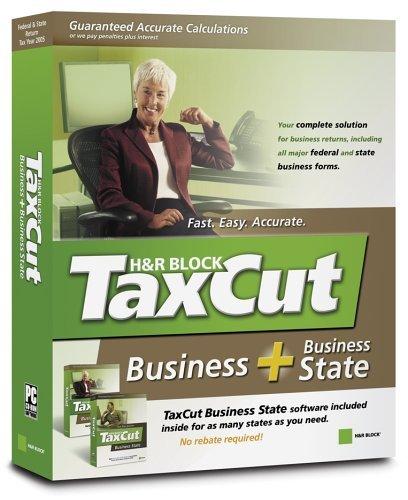 TaxCut 2005 for Business + Business State [Old Version] [CD-ROM] Windows NT 4...