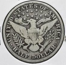 1909 Silver Barber Half Dollar 50¢ Coin Lot# A 607 image 2