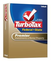 TurboTax Premier Federal + State 2007 [OLD VERSION] [CD-ROM] Windows XP ... - $9.89