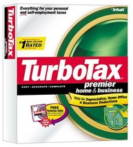 TurboTax Premier Home & Business 2002 [CD-ROM] Windows 98 / Windows 2000... - $98.99