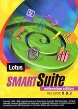 Lotus SmartSuite Millennium Edition 9.8 (DVD Style Case) New Windows XP ... - $98.99