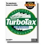 Quicken Turbotax for Business 1997 [CD-ROM] Windows