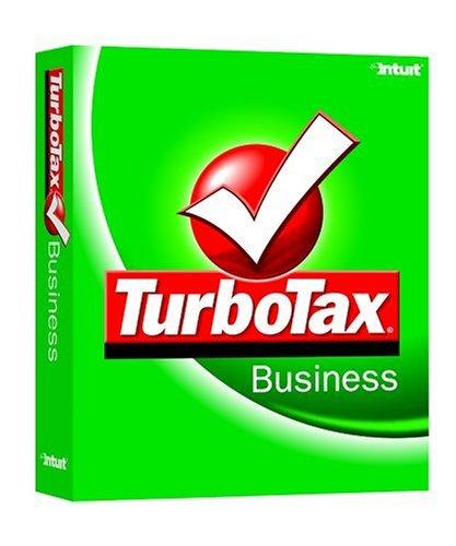 TurboTax Business 2004 [CD-ROM] Windows 98 / Windows 2000 / Windows Me / Wind...