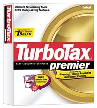 TurboTax Premier 2002 [CD-ROM] Windows 98 / Windows 2000 / Windows Me / ... - $89.09