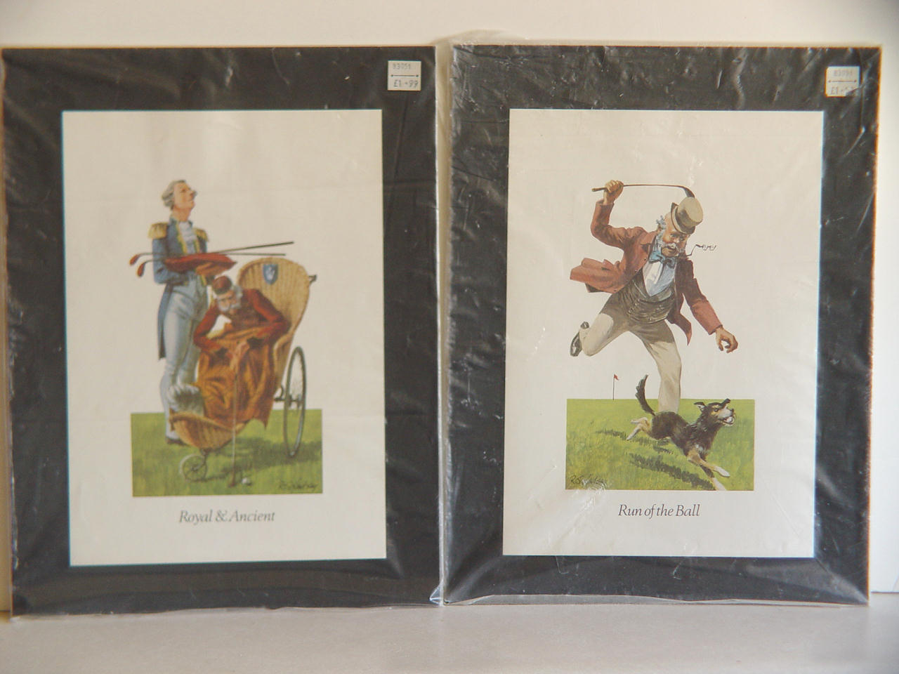 Primary image for  Royal and Ancient Scottish Golf Prints from Innes and Crom