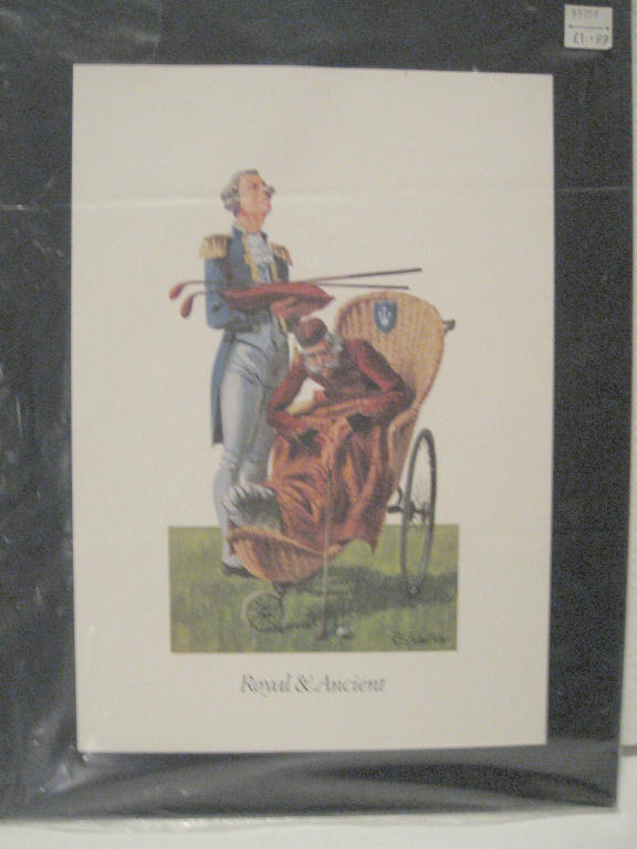 Royal and Ancient Scottish Golf Prints from Innes and Crom