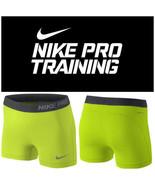"Women's Nike Pro Dri-Fit 3"" Spandex Compression Shorts XS-XL FREE SHIPPI... - $9.67+"