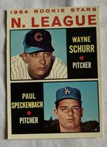 Topps 1964 Wayne Schurr & Paul Speckenbach #548 Rookie Stars Baseball Card - $10.39