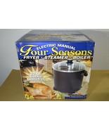 New Masterbuilt Indoor Electric Turkey Fryer Steamer Boiler Seafood 22 Q... - $123.74