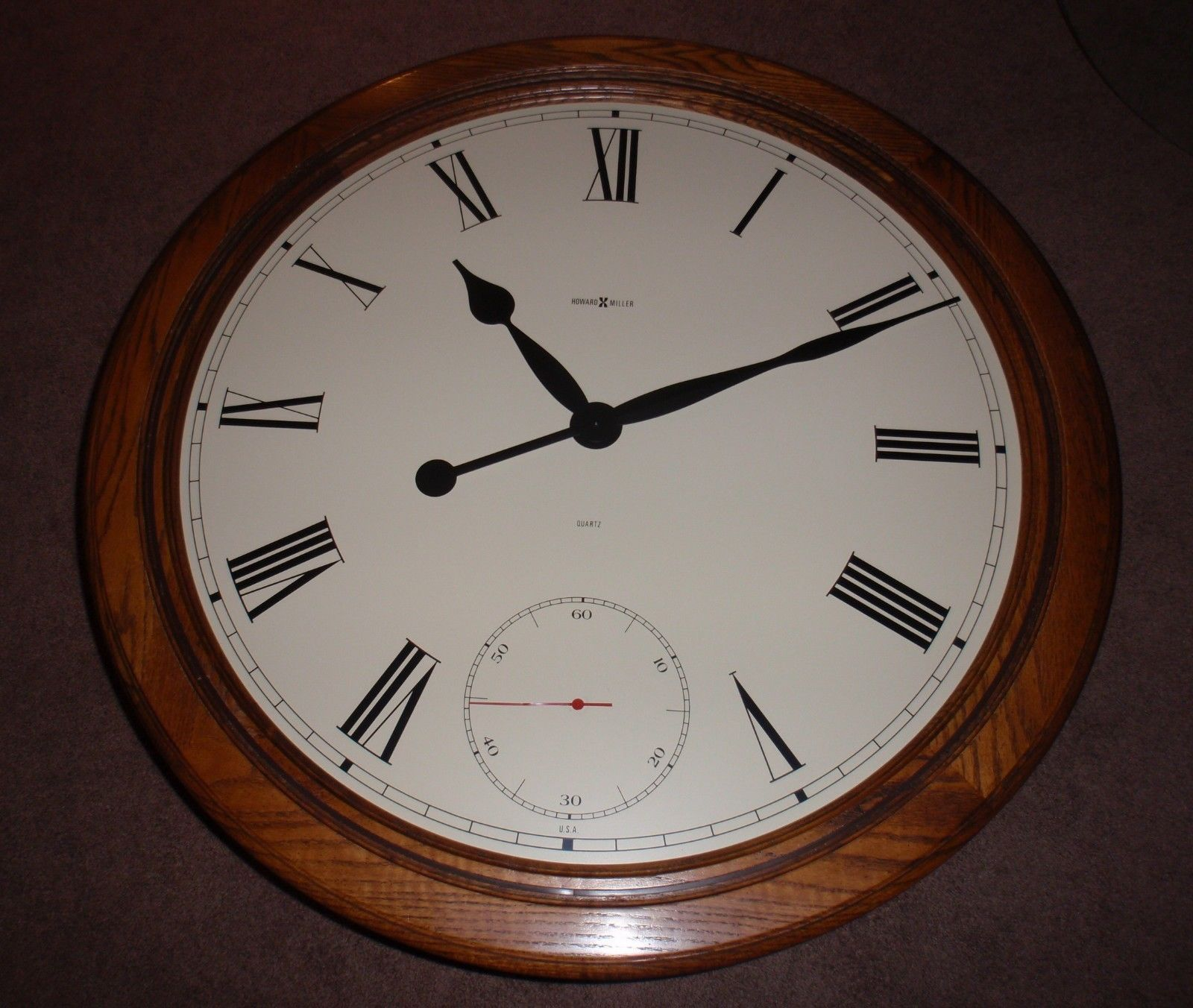 Howard Miller Floor Wooden Table Clock Model 612 680 ULTRA RARE CHRISTMAS  GIFT!