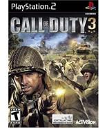 Call of Duty 3 - PlayStation 2 [PlayStation2] - $5.45