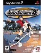 Tony Hawk's Pro Skater 4 - PlayStation 2 [PlayStation2] - $5.91