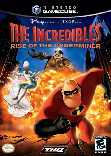 Incredibles 2 Rise of the Underminer - Gamecube [GameCube]