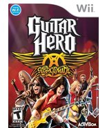 Guitar Hero Aerosmith - Nintendo Wii (Game only) [Nintendo Wii] - $5.76