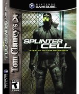 Tom Clancy's Splinter Cell - Gamecube [GameCube] - $6.81