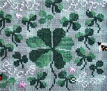 More Than Luck cross stitch chart Carriage House Samplings